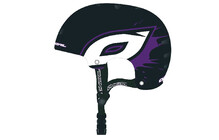 O Neal Dirt Lid Helm black purple